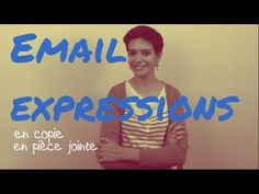 email expressions in French