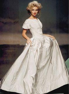 Vivienne Westwood F/W 1996  Model: Kate Moss