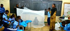 10,000 PermaNet mosquito nets to a community in need | Malaria No More