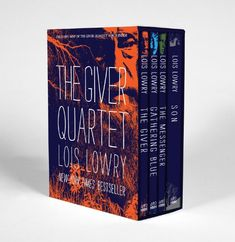 The Giver Quartet boxed set by Lois Lowry (NPR 100 Best-Ever Teen Novels)