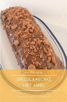 Easy Cake : Speculaas cake recipe: twice different! Always works, Recept Cake, Honey Cookies, No Bake Desserts, Diy Food, Cake Cookies, Quick Easy Meals, Chocolate Recipes, Food To Make, Cake Recipes