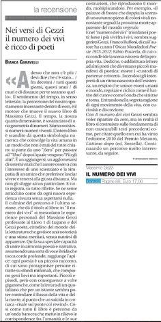 Recensione di Bianca Garavelli, «Avvenire», 2.08.2015