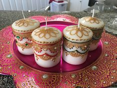 Henna Party Gifts : Perfect for wedding decor centerpieces birthdays gifts