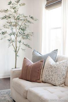 Spring Throw Pillow Roundup - Caitlin Marie Design
