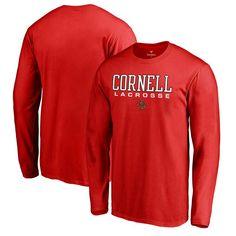 Cornell Big Red Fanatics Branded True Sport Lacrosse Long Sleeve T-Shirt - Red