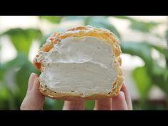 [4K VIDEO] Earl Grey Cream Puffs : Choux au Craquelin :Honeykki 꿀키 - YouTube