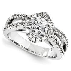 Platinum Engagement Semi-mount   JD Jewelers   Midland and Gladwin, MI
