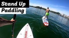 YouTube Video: SUP macht extrem viel Spaß und ist viel einfacher als es aussieht. #SUP #Standuppaddling #Bodensee Sup Boards, Sport, Stand Up, Videos, Youtube, Surf, Photo Illustration, Planks, Deporte
