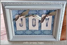 Find the JOY in every Christmas moment. | Crafty Scrappy Happy
