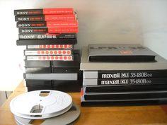 Online veilinghuis Catawiki: Bandrecorder tapes 18 en 26cm
