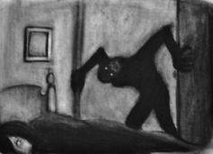 Image result for shadow man sleep paralysis