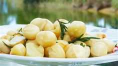 Try this Macadamia Nuts in Macadamia Oil and Rosemary recipe by Chef Maggie Beer. This recipe is from the show Chefs Christmas Rosemary Recipes, Aussie Food, Vegan Recipes, Cooking Recipes, Macadamia Oil, Christmas Cooking, Gordon Ramsay, Looks Yummy, Nigella