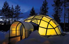 Cabin Porn™ – HotelKakslauttanen's Igloo...