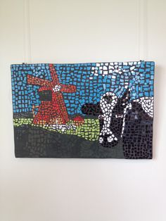 """Holland"" door Chaima en Sharienne €50,-"