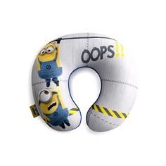 Despicable Me Minion Travel Neck Pillow Kids Airplane Accessor Toy with Cover Kids Travel Pillows, Kids Pillows, My Minion, Minions, Minion Characters, Neck Pillow Travel, Pillow Reviews, Decorative Pillow Covers, Travel With Kids