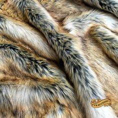 Faux Fur Fabric / Cutting / Swatch / Sample/ Piece by FurAndFabric