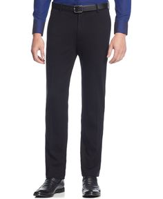 Inc International Concepts Simon Knit Slim-Fit Pants, Only at Macy's
