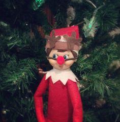 Reindeer costume.