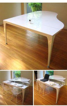 Ein Tisch - simpel und doch ausgefallen und einzigartig !