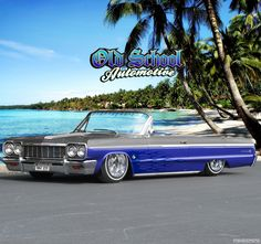 64' Chevy Impala (every Cheech & Chong fan can remember)