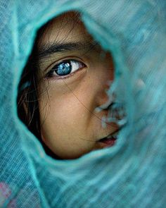 """""""Teal Eye"""" by Mykl Mabalay."""