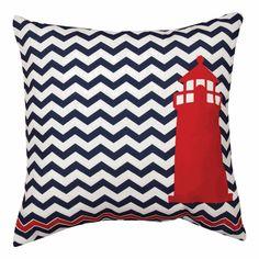 Nautical Lighthouse Indoor/Outdoor Pillow