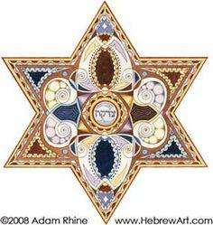 Tzedakah++Charity++Judaica+Jewish+Hebrew+Art+Signed+by+HebrewArt,+$36.00