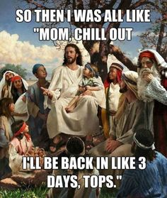 Happy Easter Funny Jesus