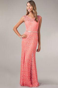 2014 New Arrival Scoop Neckline Sheath/Column Open Back Prom Dress Exquisite