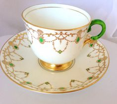 Plant Tuscan China English Bone China Vintage by HuntingDragons, $20.00