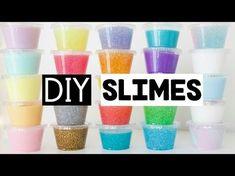 DIY How To Make Baking Soda Slime !! Slime Safe for Kids - YouTube
