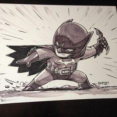 Batman by darek laufman