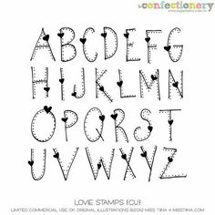 Molde letras - lettering / font with polkadots Doodle Fonts, Doodle Lettering, Creative Lettering, Lettering Styles, Brush Lettering, Writing Styles Fonts, Doodle Art, Hand Lettering Alphabet, Cute Fonts Alphabet