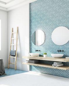 homly you service deco travaux Zen Bathroom, Guest Bathrooms, Bathroom Wallpaper, Small Bathroom, Bathroom Ideas, Glass Bathroom, Bathroom Organization, Luxury Bathrooms, Dream Bathrooms