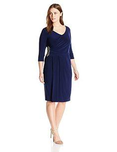 Alex Evenings Women's Plus-Size Side Ruch Dress with Bead... https://www.amazon.com/dp/B0176Y0YR6/ref=cm_sw_r_pi_dp_x_BMy9xbQ14J7DE