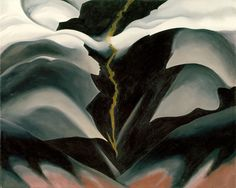 georgia o'keeffe paintings | Georgia O'Keeffe: Black Place II (59.204.1) | Heilbrunn Timeline of ...