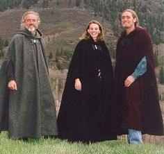 Wool winter cloak.  These guys have a number of different styles of cloaks, capes, coats and jackets.  Awesome!