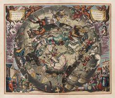 Andreas Cellarius Plates from Harmonia Macrocosmica, 1661