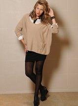 Sweater Alena-Camisa Alexis Combianda-Pollera Kelly