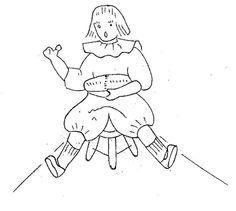 nursery rhyme quilt  -  Little Jack Horner