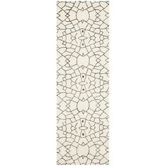 Thom Filicia Handmade Cream/ Brown New Zealand Wool Rug (2'6 x 8') | Overstock.com Shopping - Great Deals on Safavieh Runner Rugs