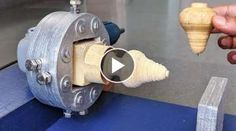 How to Make a Lathe Machine using Angle grinder at Home Homemade Lathe, Homemade Tables, Wooden Paddle, Lift Design, Lathe Machine, Cool Tents, Amazing Life Hacks, Diy Cardboard, Work Tools