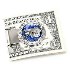 Pewter U.S. Air Force Money Clip