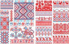 Славянские орнаменты