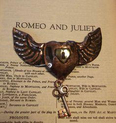 Winged key to my heart