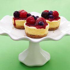 Greek Yogurt Cheesecakes Clean Eating Recipes — Punchfork