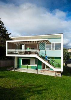 Tutere House - Parsonson Architects, Wellington, New Zealand