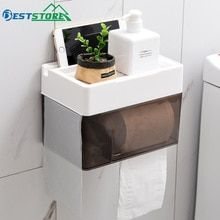 White Multi-function Bathroom Toilet Paper Holder Place Mobile Phone Toilet Paper Dispenser Tissue Box Cleaning The Oral Cavity. Paper Holders Bathroom Fixtures
