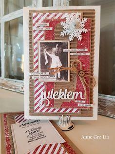 Kort & Godt Galleri: Posekort juleklem