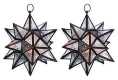 Star Candle Lanterns from One Kings Lane >> https://www.onekingslane.com/?utm_source=hgtv_medium=pinterest_campaign=april_content=diy_term=feat.board=pinterest